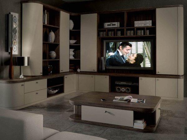 Contemporary home cinema in Optima
