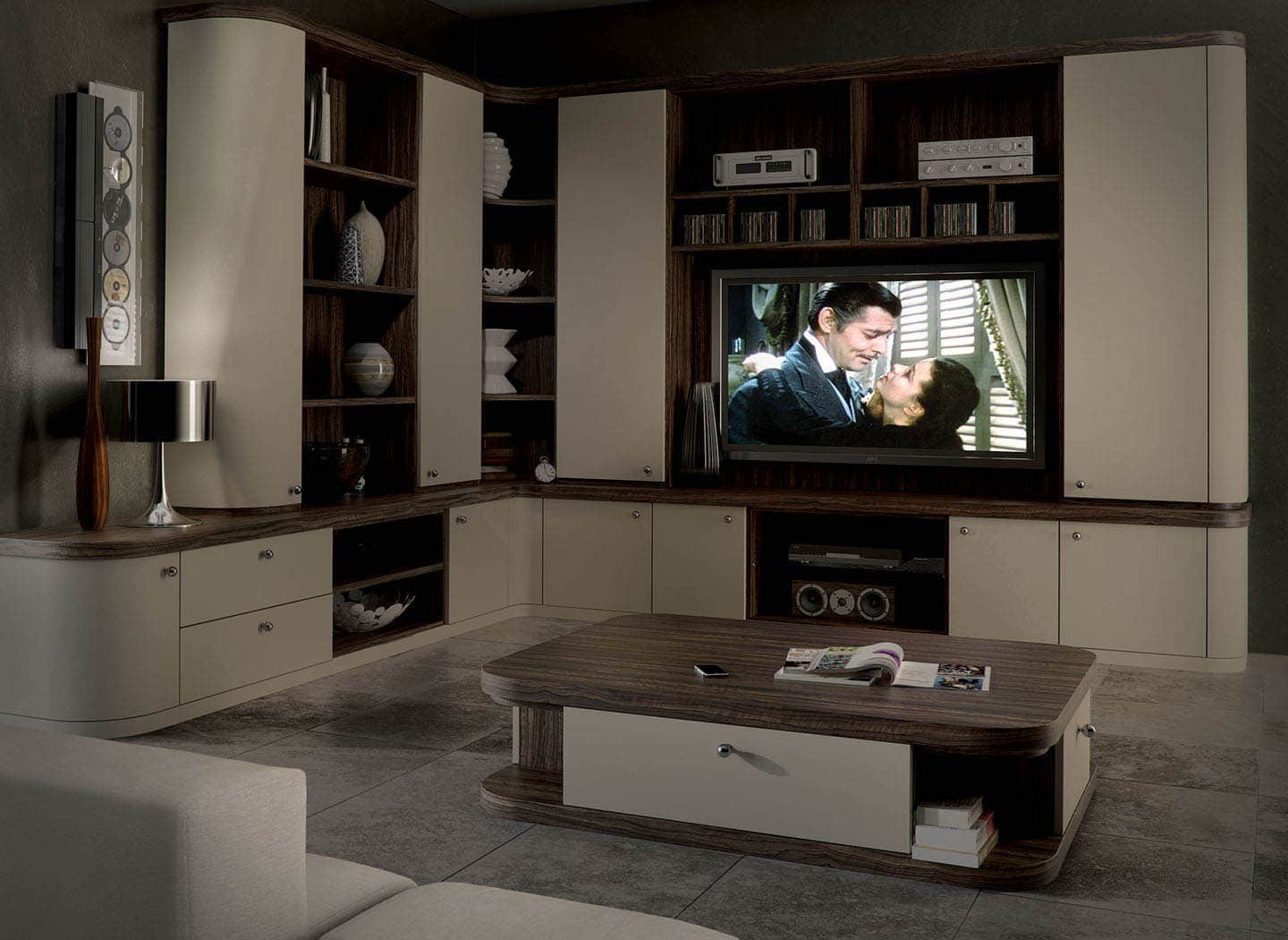 Contemporary Home Cinema In Optima