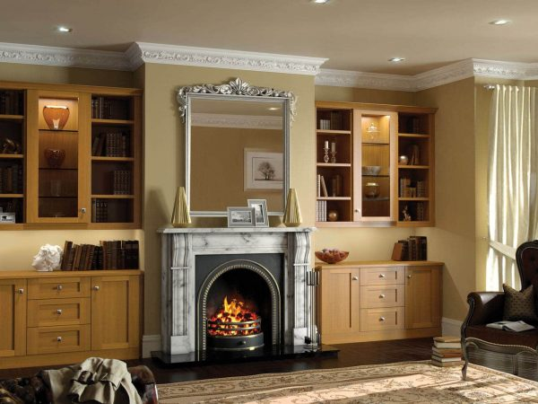 Fitted alcove lounge furniture