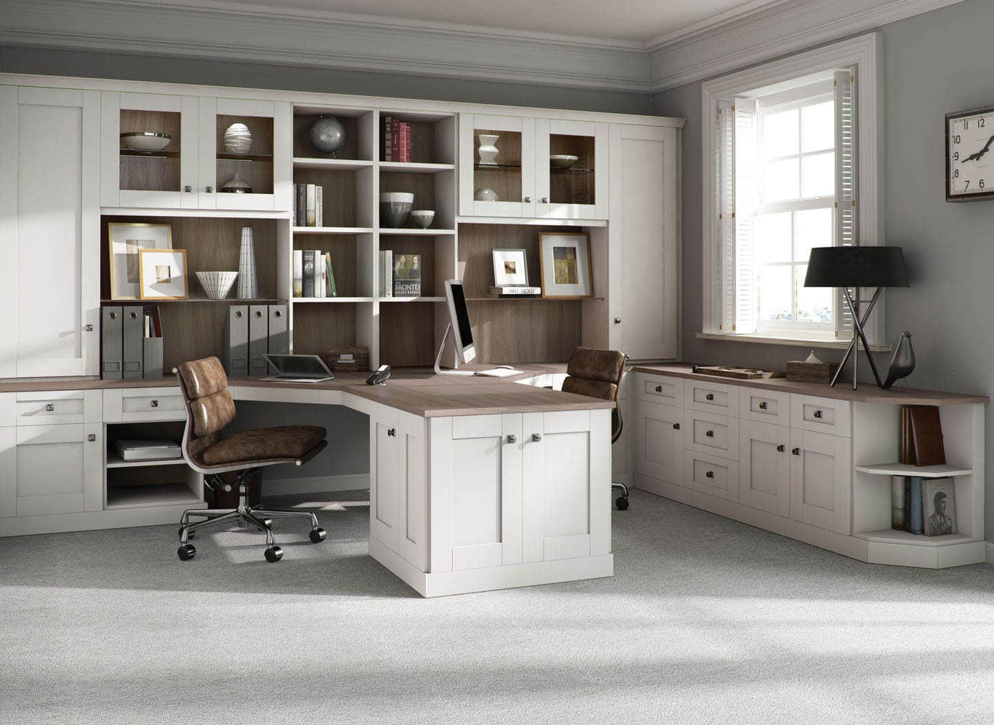 home offices fitted furniture strachan fitted home office furniture in with driftwood finish home office furniture sit stand desks strachan