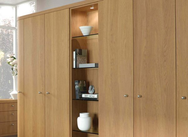 Internal wardrobe LED lighting