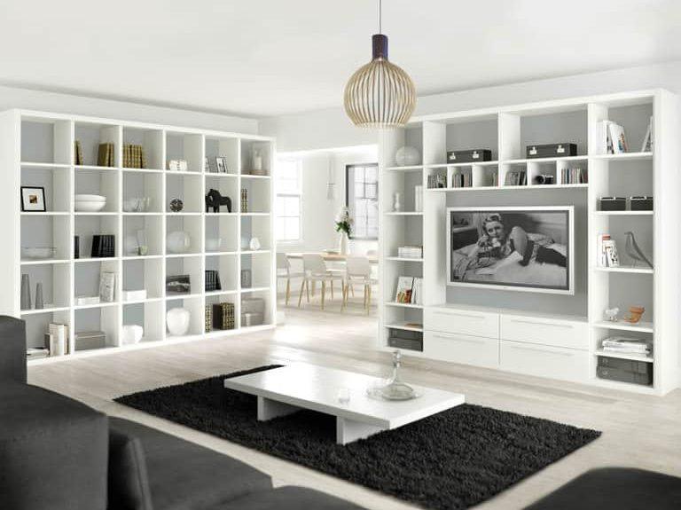 Capri lounge in Imperial Grey & Dove White