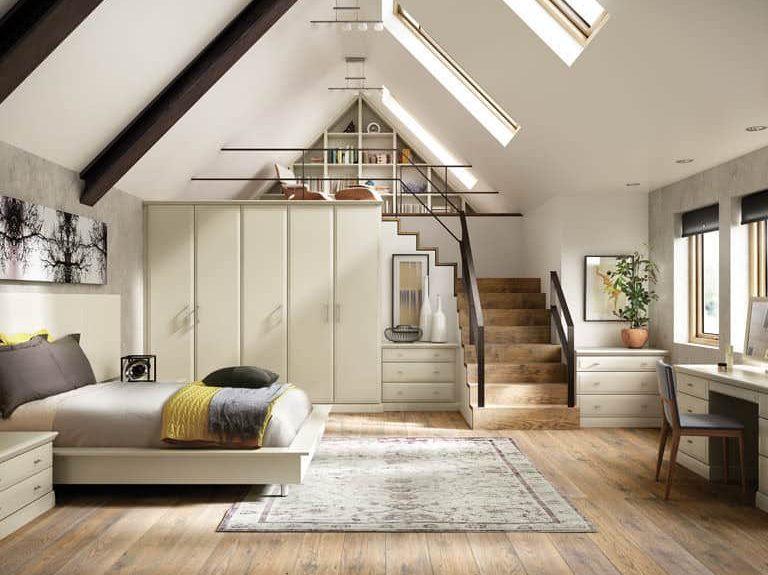 Alto bedroom in Almond