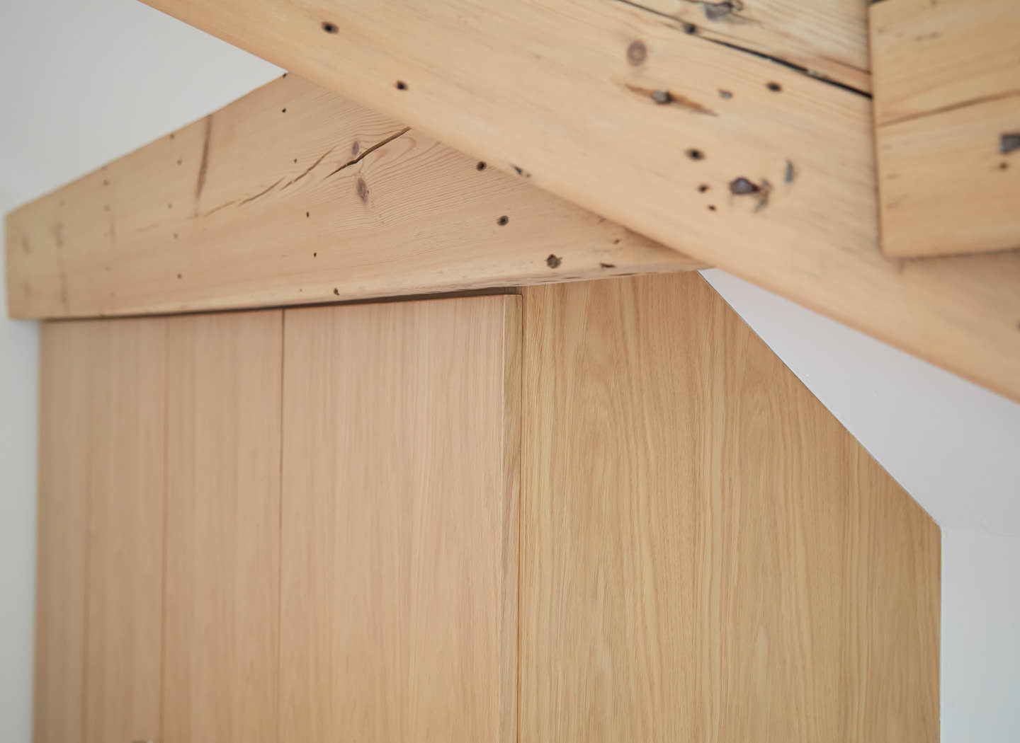 Case study showing fitted wardrobe in loft conversion