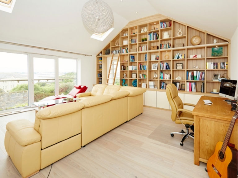 Bespoke and beautiful contemporary library