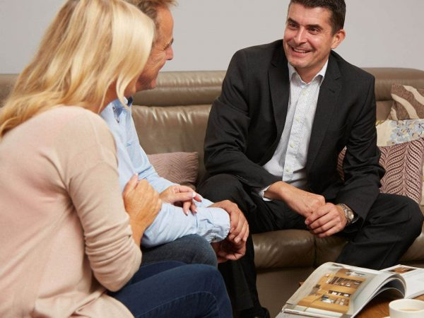 Free Strachan design consultation at couple's home
