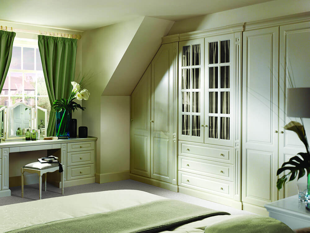Strachan Fitted Bedroom Furniture Under Sloping Ceiling