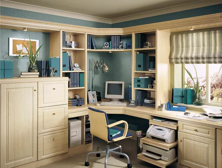 home offices fitted furniture sliding wardrobes home office in new england maple fitted office furniture sit stand desks strachan