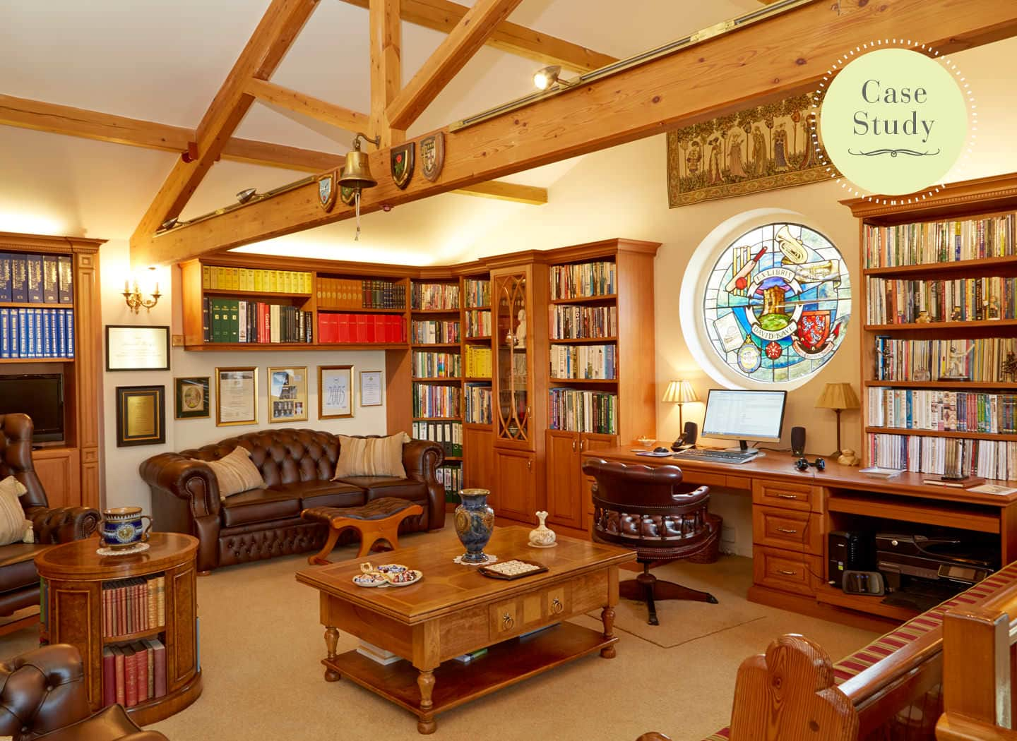 bespoke traditional library
