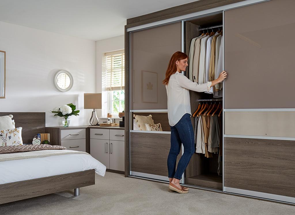 3 Panel sliding wardrobe