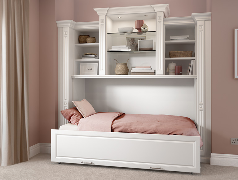 Side Fold-out Space Saving Bed