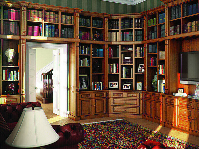 Strachan Furniture Over Doorway Storage for Books