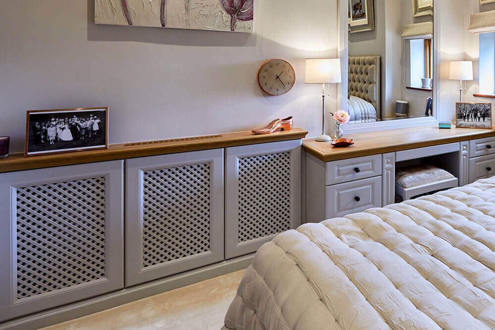 Strachan Furniture Bespoke Fitted Radiator Cover