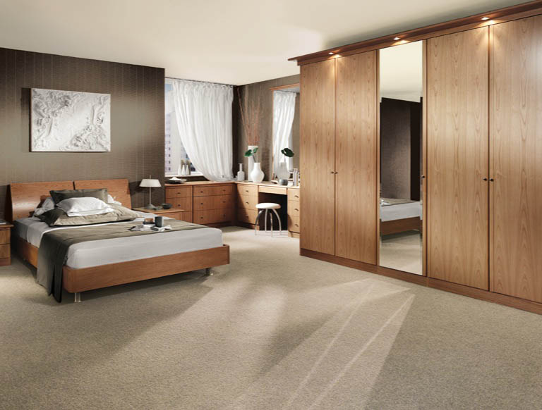 Siena bedroom in Natural Oak