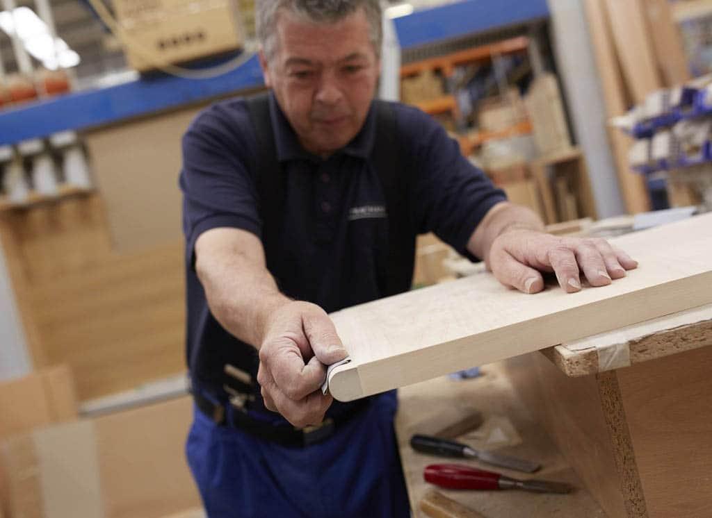 Hard at work in Strachan's Leeds workshop
