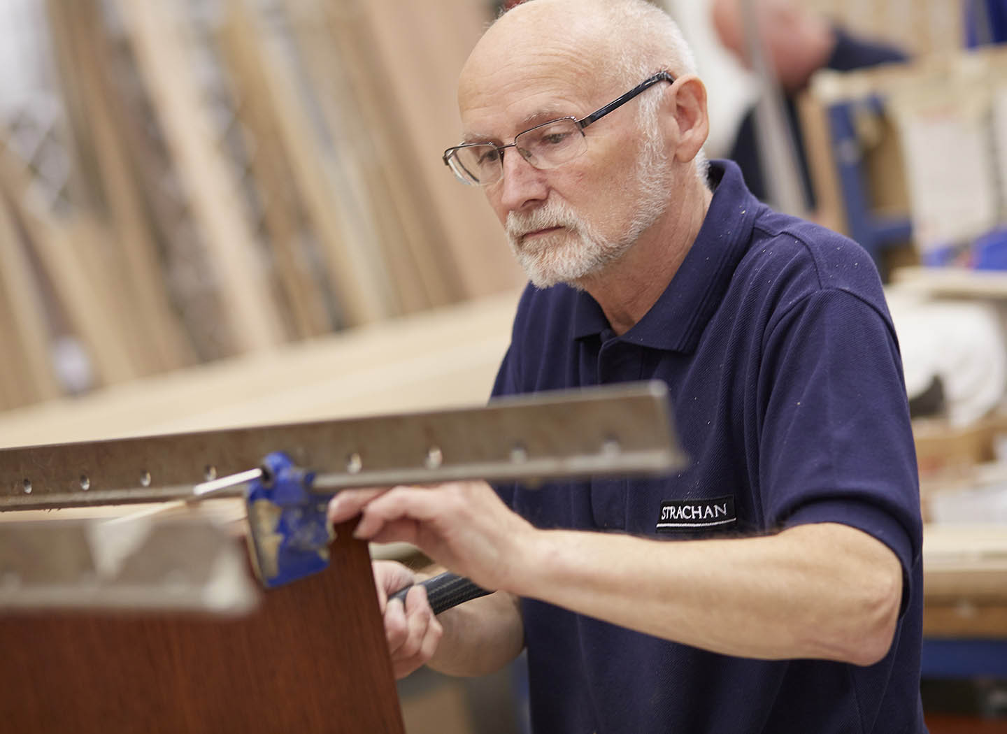 Work for the Strachan family of furniture makers