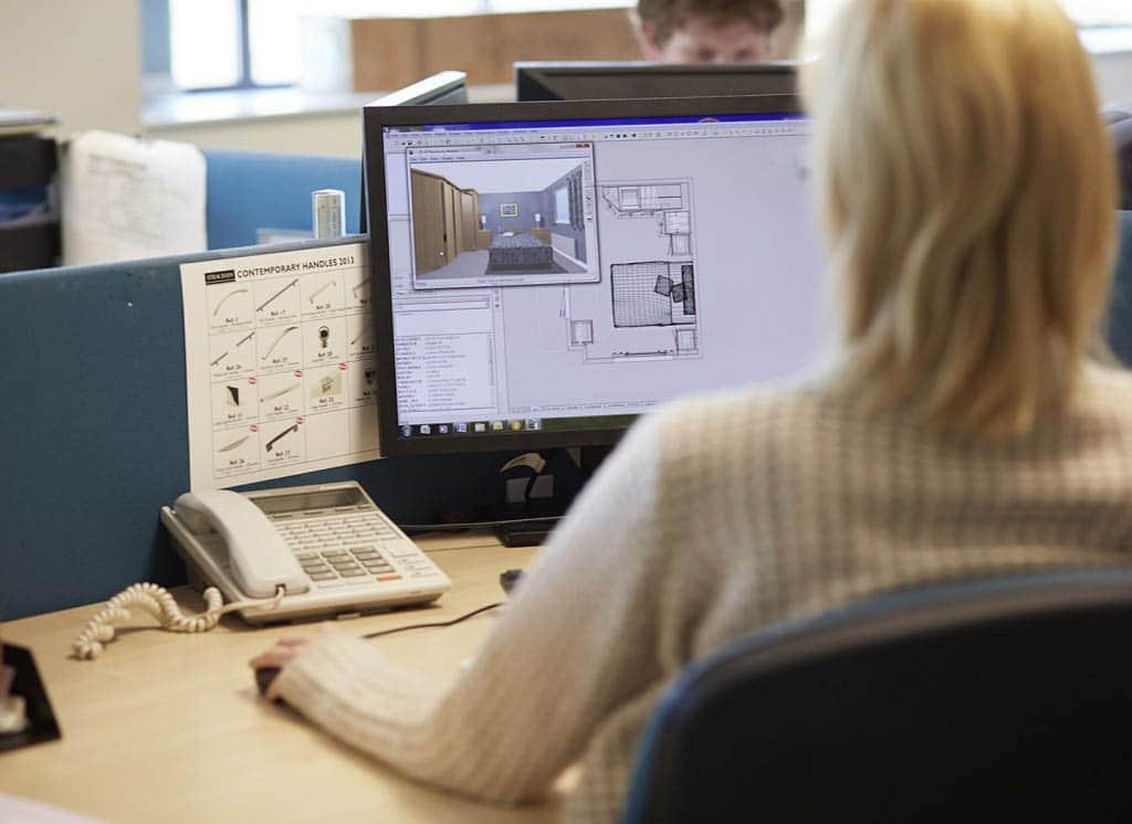 Work for us - a designer at work