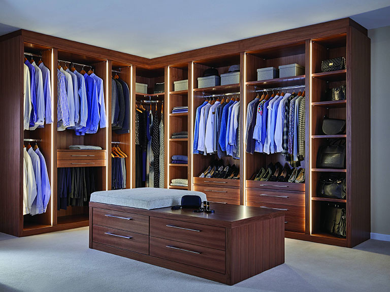 Dressing room from Strachan Furniture Makers