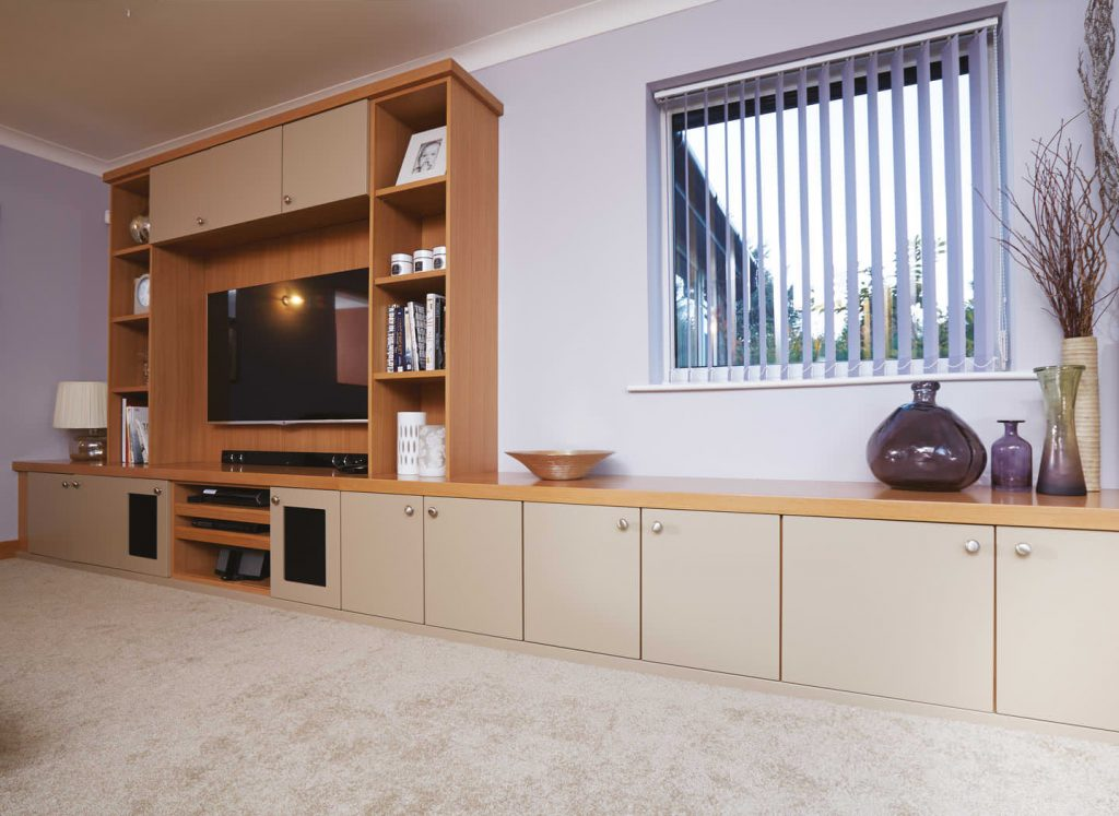 Case study showing contemporary lounge