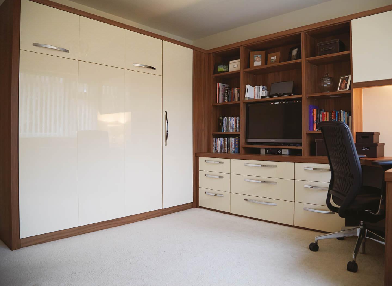guest bedroom office conversion strachan case study. Black Bedroom Furniture Sets. Home Design Ideas