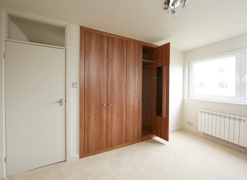 Case study showing fitted wardrobes