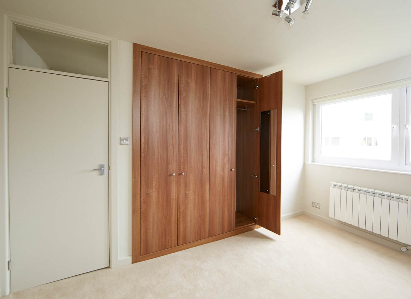 Fitted Alcove Wardrobe Solution Strachan Case Study