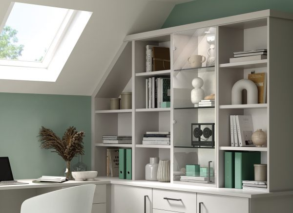 Fitted Home Office Shelving