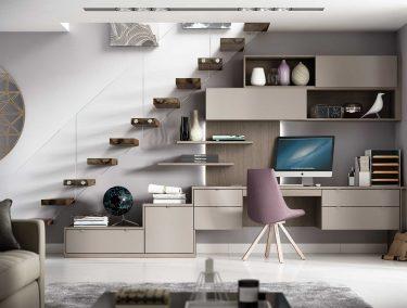 Bespoke Understairs Office Space