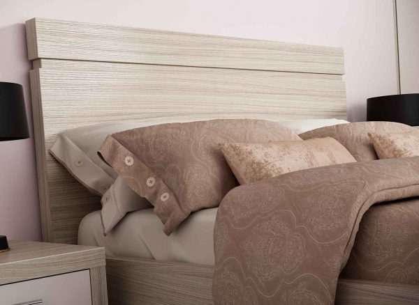 Stylish slab headboard