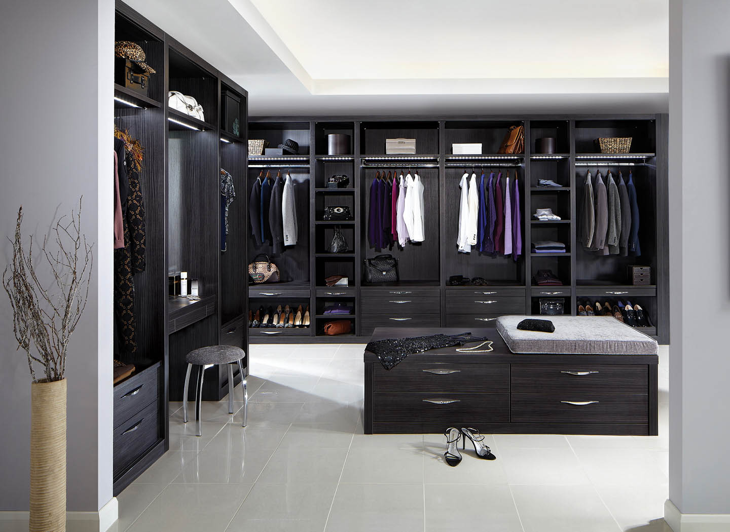 A Strachan bespoke dressing room designed especially for you