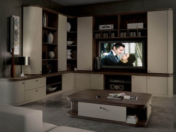 Contemporary home cinema furniture