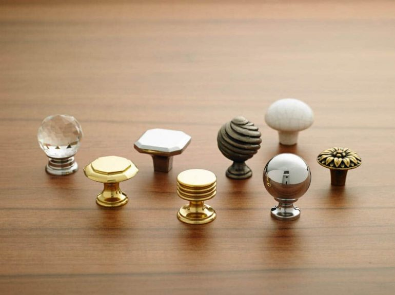 A selection of Strachan door handles