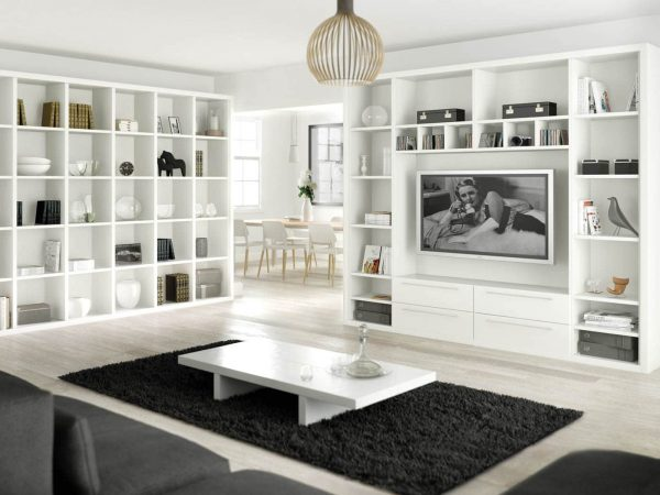 Fitted lounge in Pure White