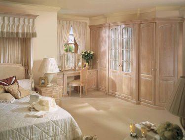 Fitted Bedroom in Shades of Oak in Limed Oak