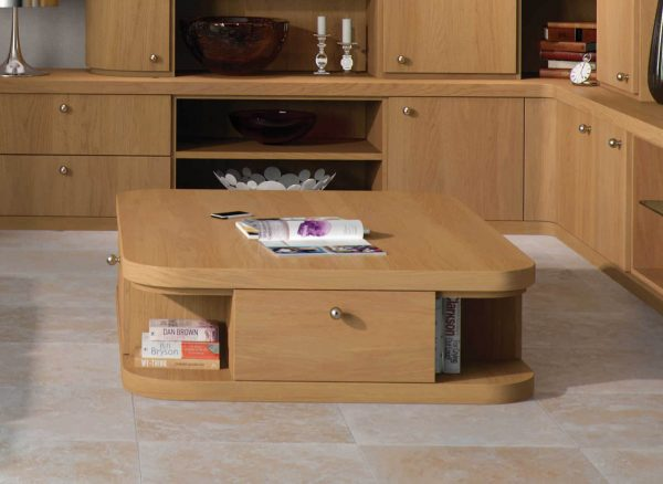 Matching freestanding coffee table