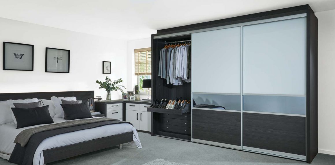milano sliding doors in aura and pure white strachan
