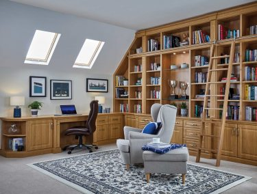 New England Read Room English Oak
