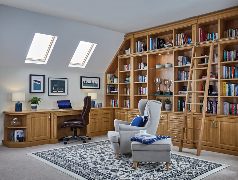 home offices fitted furniture ideas new england read room english oak fitted home office furniture sit stand desks strachan