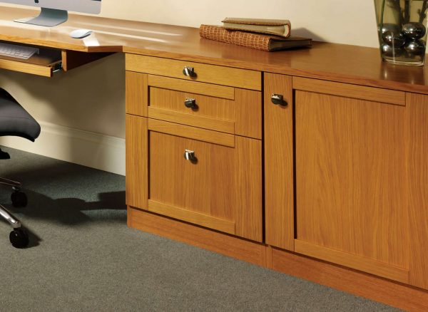 Fitted soft close drawers