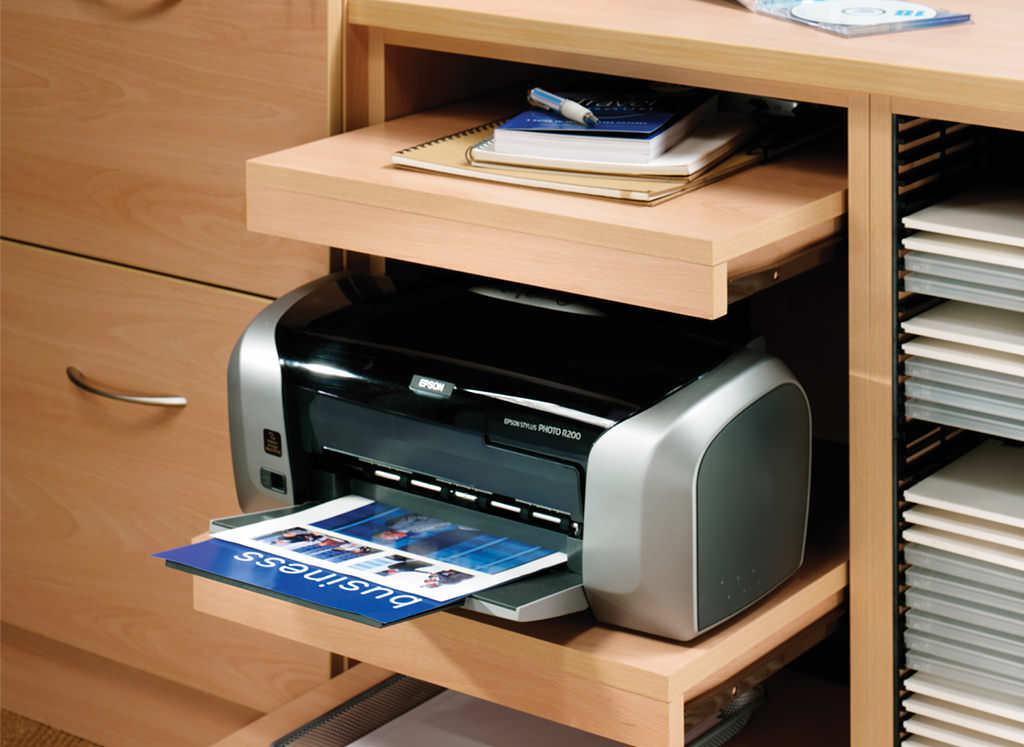 Prima Beech Modern Home Study Furniture by Strachan