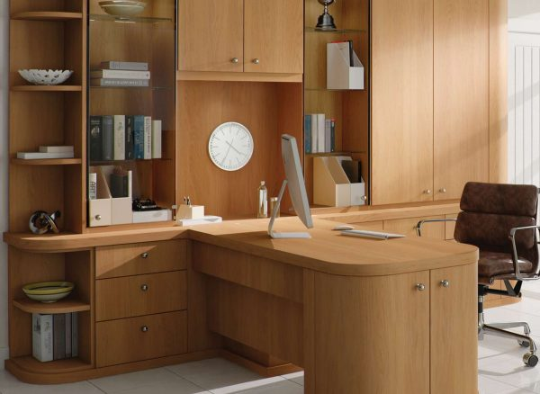 Fitted office with matching furniture