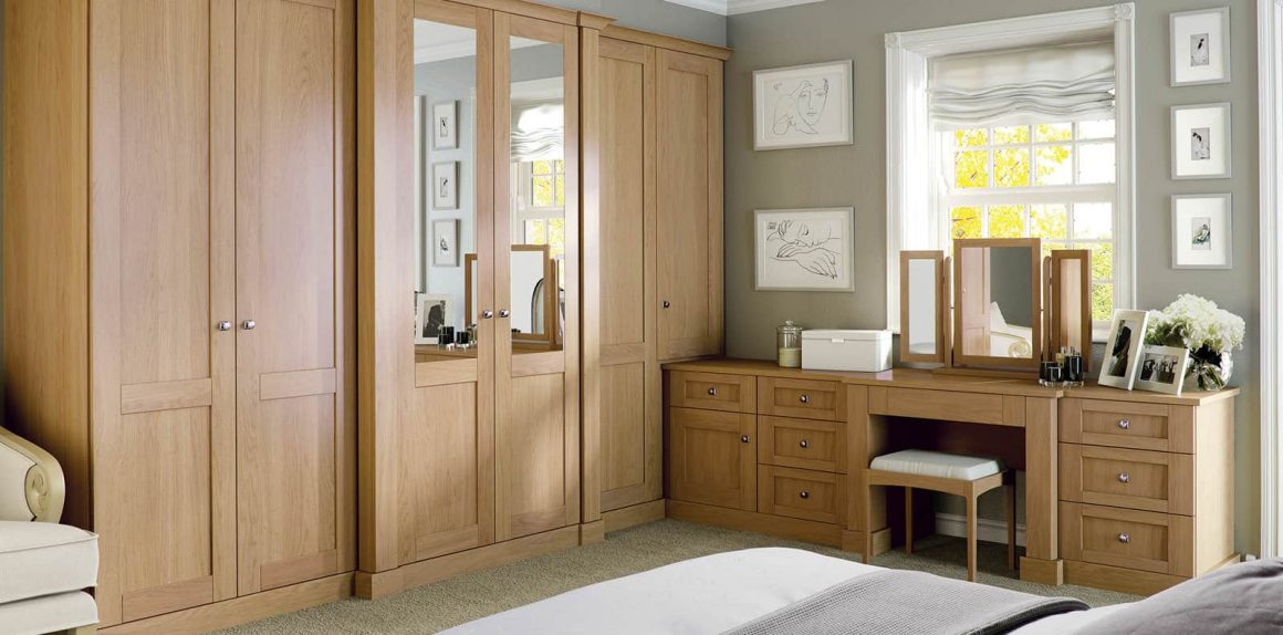Verona Fitted Bedroom in English Oak