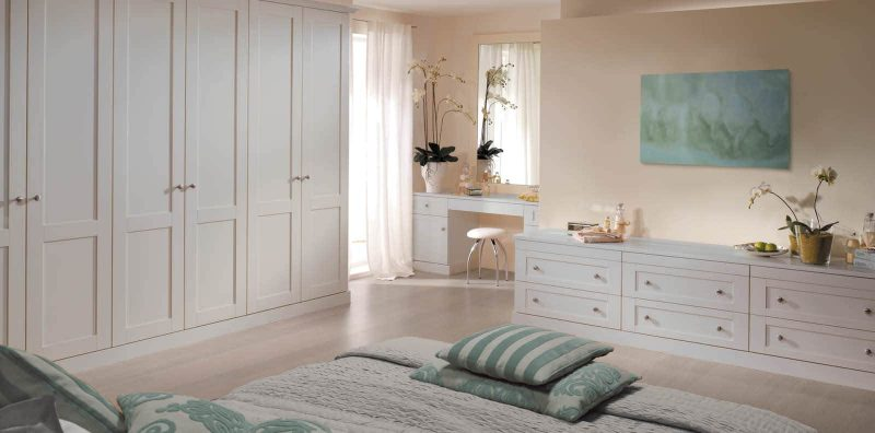 Verona fitted bedroom in palace grey