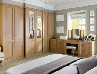Fitted Bedroom in Verona English Oak