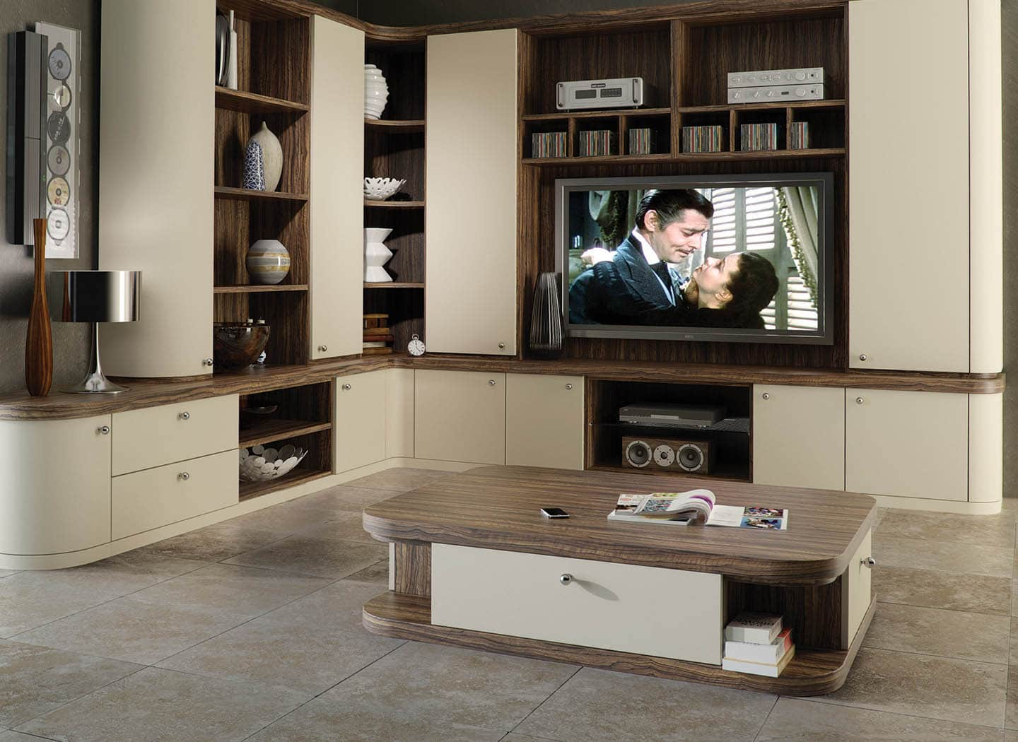 Fitted home cinema furniture