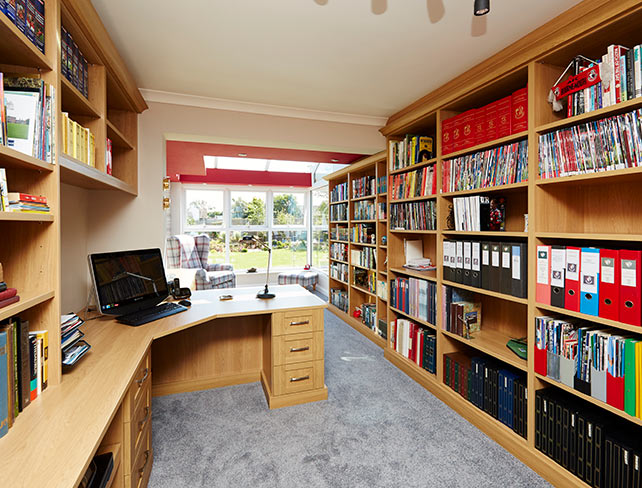 Fitted Verona home office furniture