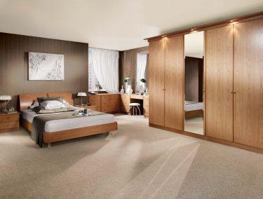Siena Fitted Bedroom in Natural Oak