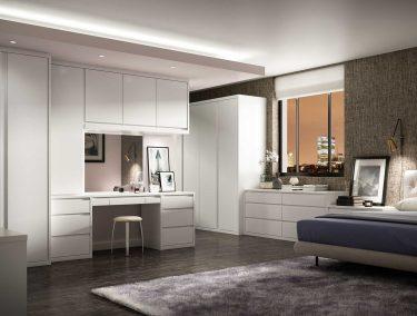 Solo Bedroom in Dove White