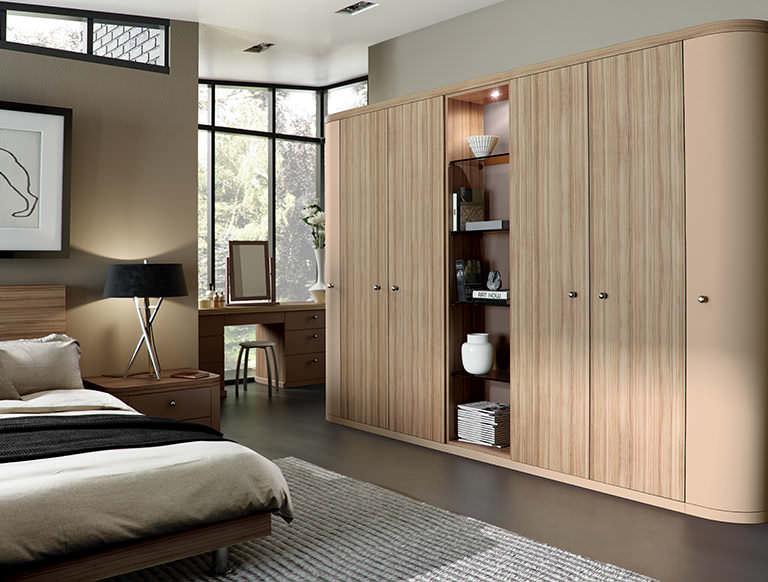 Optima bedroom in Cappuccino & Granadillo