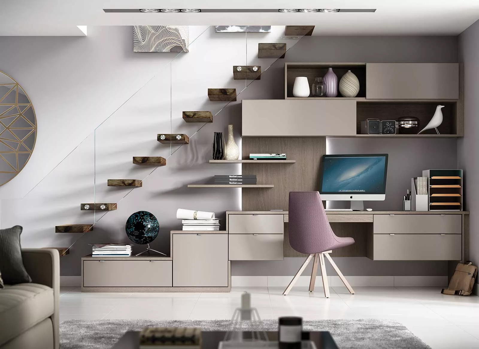 Toscana home office fitted furniture